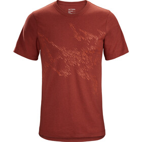 Arc'teryx Splinters SS T-Shirt Herre dark matter heather